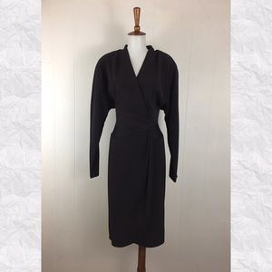 Vintage Daymor Couture Long Sleeve Shift Dress